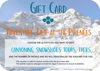 Gift card Pyrenees