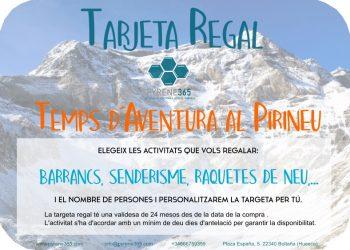 Targeta regal activitats al Pirineu